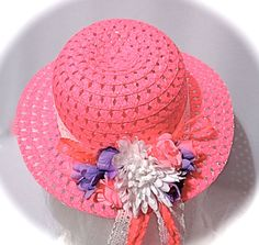 Flower Girl Hats