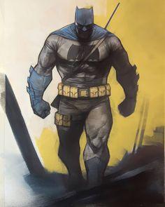 Batman by Ben Oliver * Batman And Batgirl, Im Batman, Batman Art, Superman, Dc Comic Books, Comic Book Characters, Comic Art, Batwoman, Nightwing