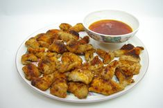 SWEET & SOUR CHILI HOT CRAPPIE NUGGETS APPETIZER