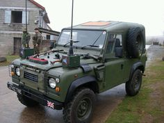 Ex British Forces Land Rover Defender XD Tdi 90 'Wolf' Replica. Army Vehicles, Armored Vehicles, Best 4x4, Jaguar Land Rover, Off Road Adventure, Expedition Vehicle, British Army, Trucks For Sale, Land Rover Defender