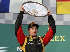 Kimi Räikkönen Wins
