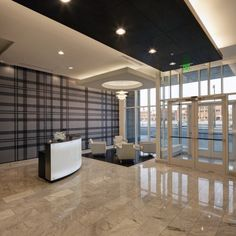 Moderne Apartments Lobby #Architecture #Interiors #Wisconsin