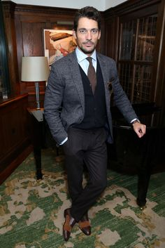 David Gandy - Tommy Hilfiger Throws a London Collections Men Bash at The Ivy