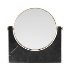Menu Pepe marble mirror (£415) ❤ liked on Polyvore featuring home, home decor, mirrors, marble mirror, framed mirrors, marble home decor and marble framed mirror