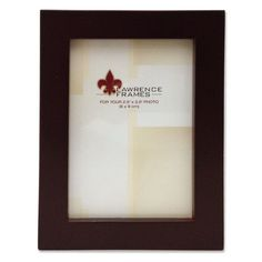"""Zipcode Design Classic Picture Frame (Set of 2) Size: 8"""" x 12"""", Finish: Nutmeg"""