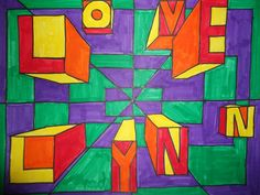 Optical Illusions, Cube, Quilts, Abstract, Logos, Artwork, Student, Ideas, Summary
