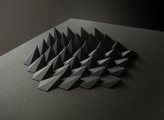 Matthew Shlian - paper sculptures