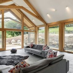 Green Oak Extension Featured In Self Build and Design Magazine