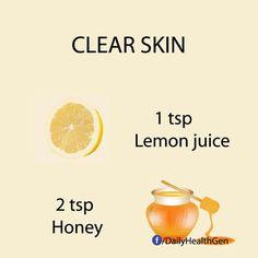 Clearer skin mask