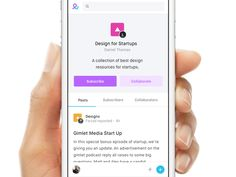 Late 2015 we partnered with one of the founding members of Vevo to design and build a collaborative research platform for students. This is the mobile view of the Collection page.   Created with lo...
