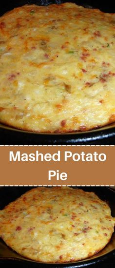 Great Dinner Recipes, Quick Recipes, Dinner Ideas, Healthy Recipes, Easy To Make Dinners, Easy Meals, Leftover Mashed Potatoes, Potato Pie, Bacon Bits