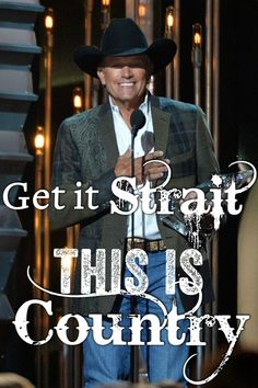 This is country music. Long live the King George Strait! Country Music Artists, Country Music Stars, Country Singers, Country Men, Country Girls, Country Life, Country Living, Musica Country, I Love Music
