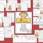 This turkey unit is stuffed with smart charts to keep your little gobblers thinking  and writing! (thinking maps style printables)