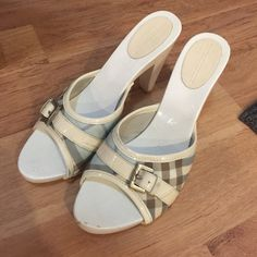 Authentic Burberry sandal size 39 Authentic Burberry sandal size 39 used check the picture how looks like it. Burberry Shoes Sandals