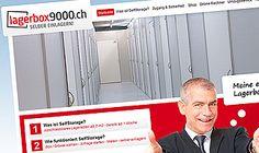 Die visions.ch durfte für die Lagerbox9000 Website das Design, der Lagerrechner / Kalkulator, die Integration des Content-Management-Systems realisieren.