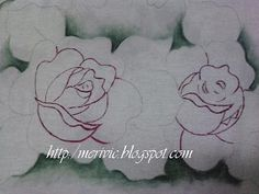 Pintar rosas sem se perder....