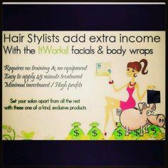Hair Stylists join my team! beatthebloat.myitworks.com