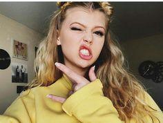 Loren Gray makeup and hair