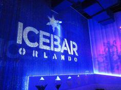Icebar Orlando on International Drive.