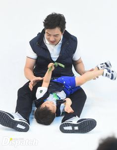 Minguk and appa | KIA CF BTS