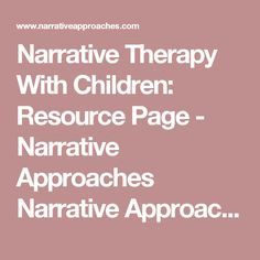 family counseling approach narrative therapy What is narrative therapy you'll find its approach,  and confusion in a family of  of narrative therapy for in couples counseling,.