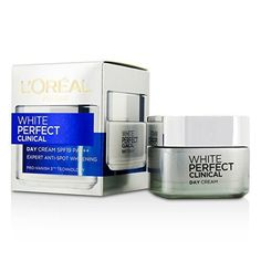 Loreal Paris White Perfect Clinical Experts Anti-spot Whitening Spf 19 PA+++ Day Cream 50 ml (Made In Indonesia) With Free Ayur Sunscreen 50 ml L'Oreal Dermo Expertise White Perfect Laser Day, 50 ml works towards leaving a rich whitening effect on your skin.