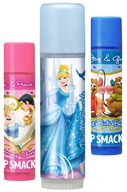 Lip Smacker Disney Princess Cinderella Dream It Lip Gloss Trio Collection Charming Cheesecake, Vanilla Sparkle (Biggie) and Best Buds Berry Carded