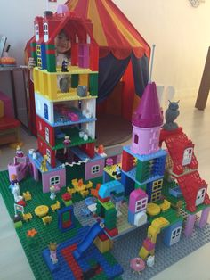 Duplo Lego castle