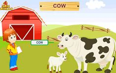 Animated Farm Animals Lesson for Preschooler and Kindergartener