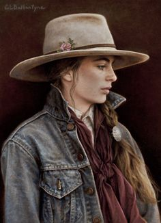 A beautiful classic profile.  Carrie Ballentyne - Montana Rose.