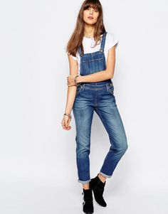Lee Jeans | Lee Bib Logger Skinny Overall at ASOS