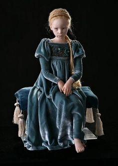 wonderful doll and clothing by Laura Scattolini