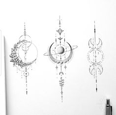 Line Art Tattoos, Spine Tattoos, Sternum Tattoo, Body Art Tattoos, Tattoo Drawings, Cute Tiny Tattoos, Pretty Tattoos, Beautiful Tattoos, Small Tattoos