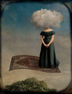 Corinne Geertsen - Surrealism & Odd Juxtapositions - Clouded