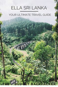 From hiking along forgotten railway tracks to sipping all the tea if you're heading to Sri Lanka's mountain haven, here are the 8 best things to do in Ella Sri Lanka.// ella rock sri lanka, hotels in ella sri lanka, little adam's peak Ella, ella hiking, places to visit in ella, where to stay in ella, hostels in ella, nine arch bridge ella, ella sri lanka accommodation, what to do in ella sri lanka, ella tourist attractions, what to see in ella sri lanka, hiking ella sri lanka, walks in ella