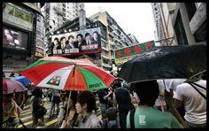Hong Kong packed