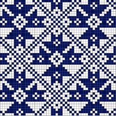 Photo Cross Stitch Pillow, Cross Stitch Charts, Cross Stitch Patterns, Knitting Charts, Knitting Stitches, Knitting Patterns Free, Weaving Patterns, Embroidery Patterns, Fair Isle Chart