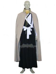 Bleach Ichigo Kurosaki Execution Ground Cosplay Costume $67.99  http://www.cosplayknot.com/bleach-ichigo-kurosaki-execution-ground-cosplay-costume.html
