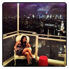 Tuesday Night... Chill Mode. #nyc Brancalisa@yumikim Great View!! Is That Rooftop At Mondrian By Yumi Kim