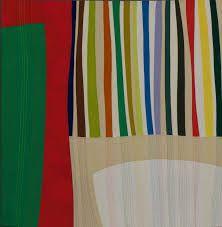 Thank You Morris Louis. quilt by Terry Jarrad-Dimond