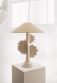 home office decor Simple Furniture, Dream Furniture, Home Decor Furniture, Ceramic Table, Ceramic Lamps, Vista House, Interior Design London, Pottery Designs, Home Office Decor