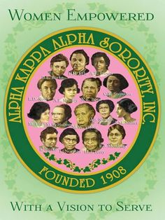 My Great-Great Aunt Marie Woolfolk-Taylor is in center of this picture. She was their 1st Secretary. Since 1908 #AKA# Founders
