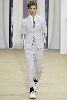 Thom Browne Spring 2008 Menswear Collection Photos - Vogue