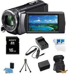 Sony HDR-CX210 HDR-CX210B HDR-CX210/B High Definition Handycam 5.3 MP Camcorder with 25x Optical Zoom (Black) + 16GB High Speed SDHC Card + High Capacity Battery + Rapid AC/DC Charger + Deluxe Case + Much More! - http://electmecameras.com/camera-photo-video/camcorders/sony-hdrcx210-hdrcx210b-hdrcx210b-high-definition-handycam-53-mp-camcorder-with-25x-optical-zoom-black-16gb-high-speed-sdhc-card-high-capacity-battery-rapid-acdc-charger-deluxe-case-much-more-com/