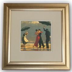The Singing Butler Framed Art Print by Jack Vettriano