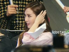 "Jessica Jung filming Chinese Program ""Happy Camp"""