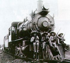 "Mexican Revolution - My dad's family grew up on the ""ferrocarril"". :D Miss him"