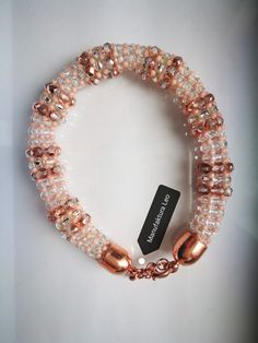 Bracelet by Manufaktura Leo Leather Working, Leo, Jewelry Making, Beaded Bracelets, Handmade, Fashion, Moda, Hand Made, Fashion Styles