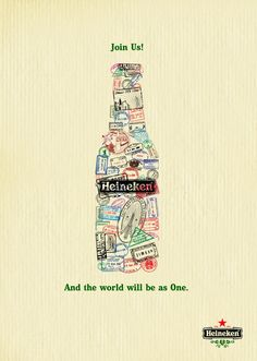 ¿Qué te parece esta pieza para Heineken?