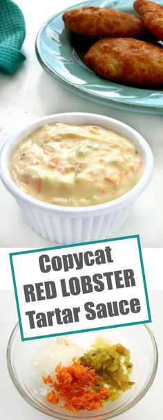 Homemade Tartar Sauce is easy to make but what really sets this Copycat Red Lobster Tartar Sauce apart from the rest is that, just like the real thing, it has a touch of sweetness to it.